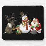 Banda de jarro del navidad Mousepad Tapetes De Ratones