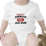 Banda de jazz de los cucuruchos XXL Trajes De Bebé