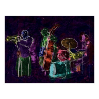 Banda de jazz posters