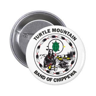 Banda de la montaña de la tortuga de Chippewa Pin