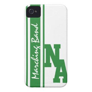 Banda de las letras de equipo universitario iPhone 4 Case-Mate carcasas