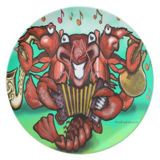 Banda de los cangrejos platos