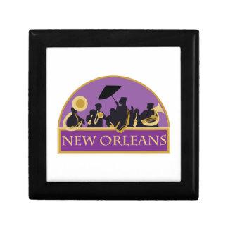 Banda de New Orleans Cajas De Regalo