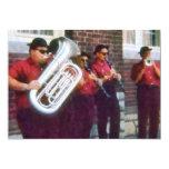 Banda de Oompah Invitación 12,7 X 17,8 Cm