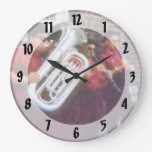 Banda de Oompah Relojes De Pared