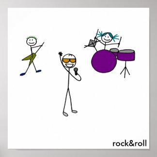 Banda de rock dos impresiones