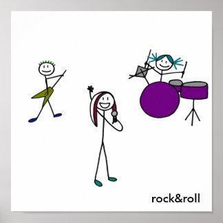 Banda de rock una posters