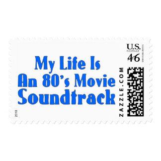 banda de sonido de la película de los años 80 sello