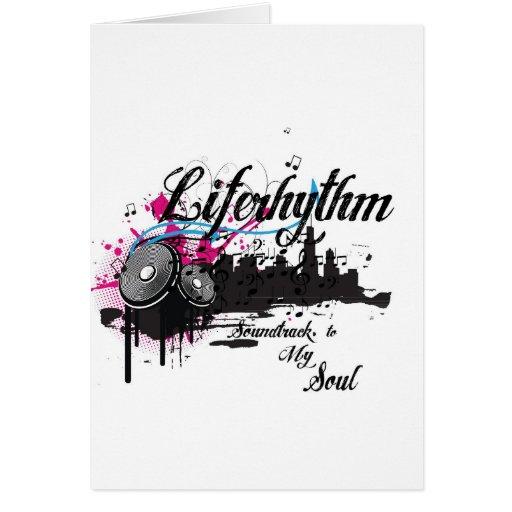 Banda de sonido de Liferhythm- de su alma Felicitación