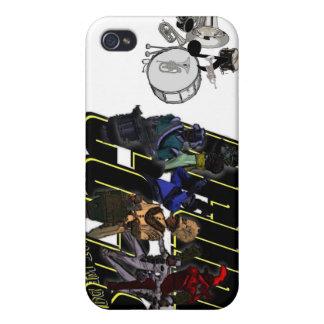 Banda de tambores, banda de tambores - qué nosotro iPhone 4/4S carcasa