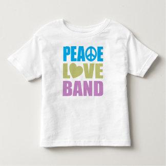 Banda del amor de la paz tshirt
