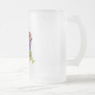 Banda del chica taza de cristal
