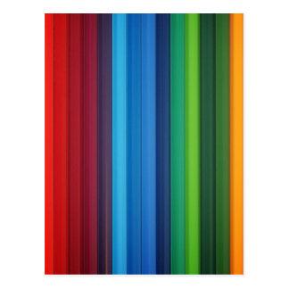 Banda del color postal
