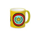 Banda del este del sello cherokee taza de café
