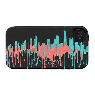BANDA DEL HORIZONTE DE CHICAGO, ILLINOIS - PB - CARCASA iPhone 4