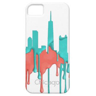 BANDA DEL HORIZONTE DE CHICAGO, ILLINOIS - PB - FUNDA PARA iPhone SE/5/5s