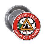 Banda del lago leech de Ojibwe Pin