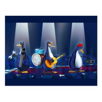 Banda del pingüino postal