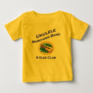 Banda del Ukulele y club de júbilo Playera De Bebé