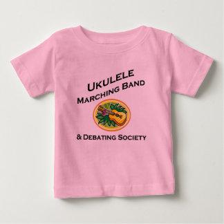 Banda del Ukulele y sociedad de la discusión Playera De Bebé
