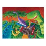 Banda enrrollada del dinosaurio postal