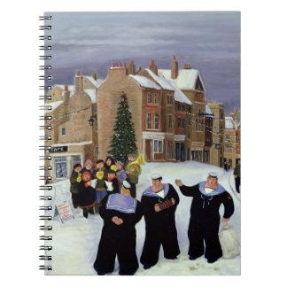Banda escolar del C.E. de St Mark Spiral Notebook