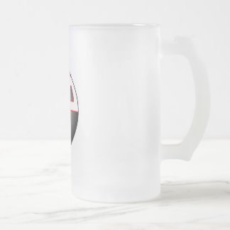 Banda libre del estacionamiento - taza del vidrio
