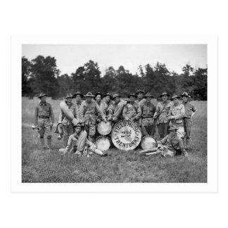Banda militar de Trenton New Jersey: 1900s tempran Tarjeta Postal