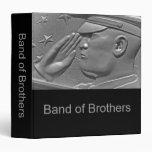 """Banda militar del álbum de foto de los hermanos carpeta 1 1/2"""""""