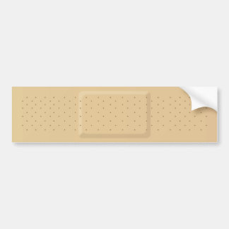 Bandage Bumper Sticker