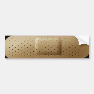 Bandage bumpersticker bumper sticker