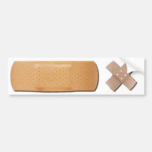 Bandage Bumpersticker Bumper Stickers