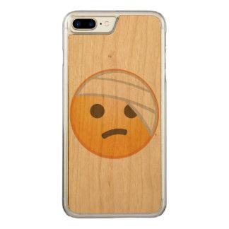 Bandage Face Emoji Carved iPhone 7 Plus Case
