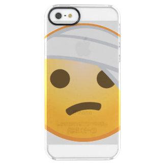 Bandage Face Emoji Clear iPhone SE/5/5s Case