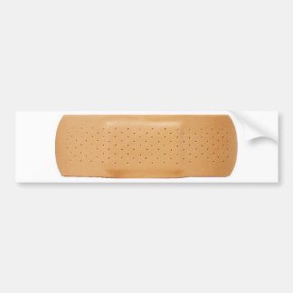 Bandage for Your Car Bumper Stickers