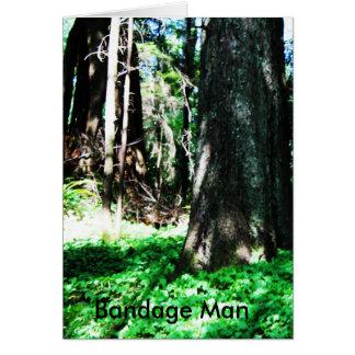 Bandage Man Card