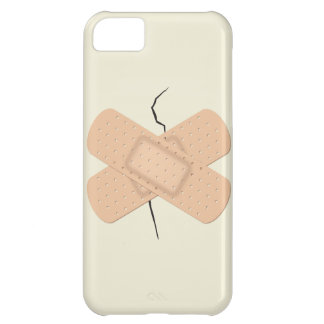 Bandage On A Crack Cover For iPhone 5C