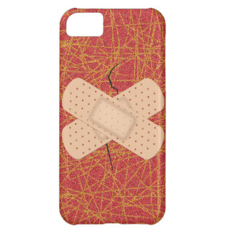 Bandage On A Crack iPhone 5C Cover