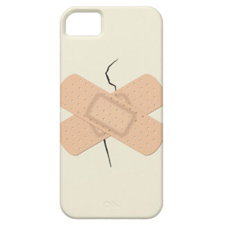 Bandage On A Crack iPhone SE/5/5s Case
