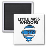 Bandaged Little Miss Whoops 2 Inch Square Magnet