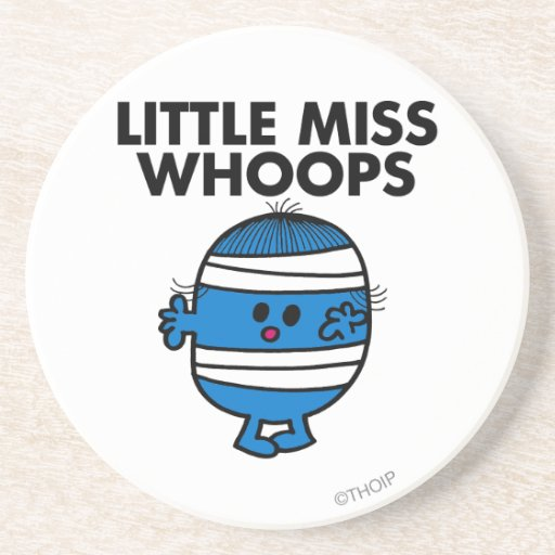 Bandaged Little Miss Whoops Coaster