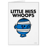 Bandaged Little Miss Whoops Greeting Card