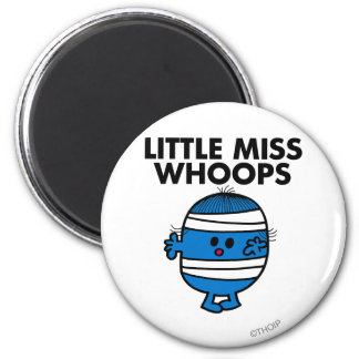 Bandaged Little Miss Whoops Magnet