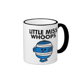 Bandaged Little Miss Whoops Ringer Coffee Mug