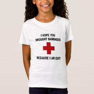 Bandages Cut T-Shirt