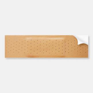 Bandaid bumper sticker