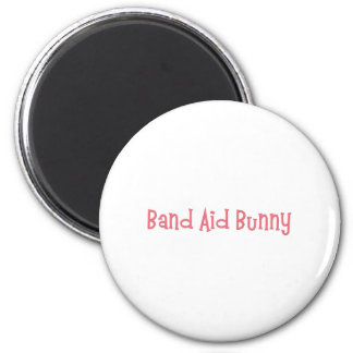 Bandaid Bunny Nurse Gifts 2 Inch Round Magnet