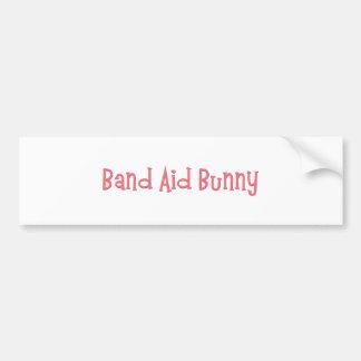Bandaid Bunny Nurse Gifts Bumper Stickers