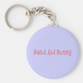 Bandaid Bunny Nurse Gifts Keychain