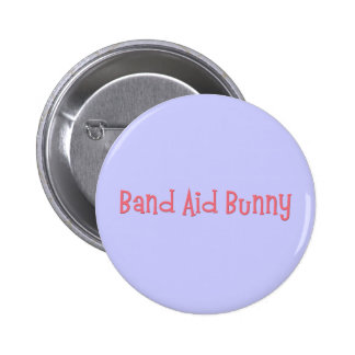Bandaid Bunny Nurse Gifts Pinback Button